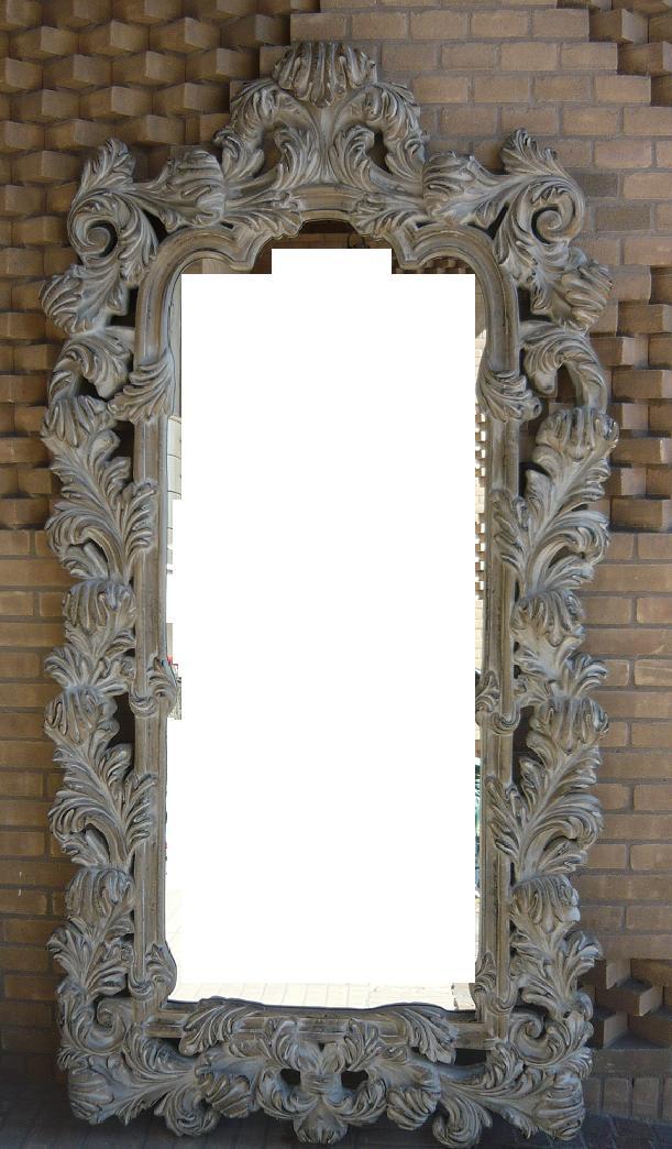 Sf819awh specchio cornice bianca b b sas import export - Specchio cornice bianca ...
